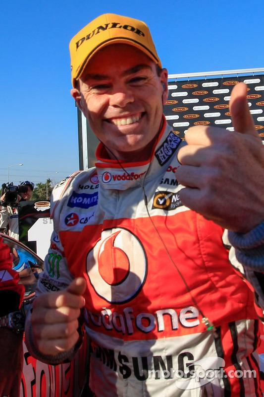 Race winner Craig Lowndes