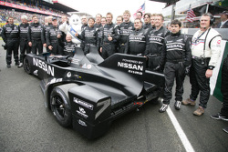 #0 Highcroft Racing Delta Wing Nissan team photo