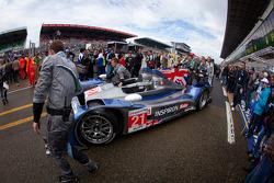 #21 Strakka Racing HPD ARX 03a Honda