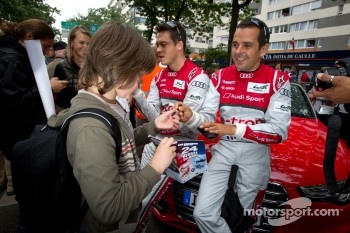 Andre Lotterer and Benoit Tréluyer