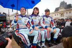 Marc Rostan, Keiko Ihara and Jean-Denis Deletraz