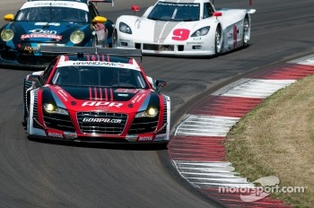 #52 APR Motorsport Audi R8 Grand-Am: Marc Basseng, Frank Stippler