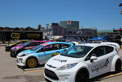 Rally Cross cars ready to go