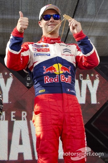 Winner Sbastien Loeb