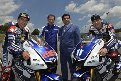 Yamaha Factory Racing photoshoot