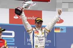 Podium: race winner Johnny Cecotto