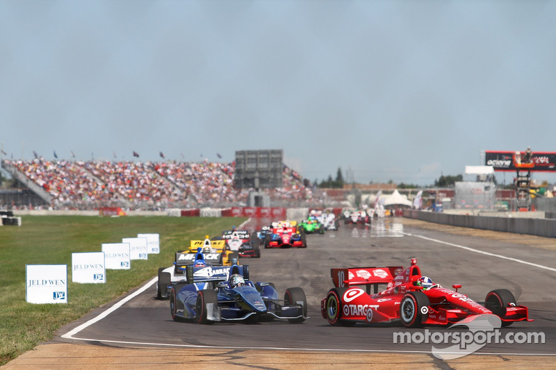 Edmonton Indy Race Start