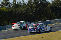 Stefano D'Aste, BMW 320 TC, Wiechers-Sport and Charles Ng, BMW 320 TC, Liqui Moly Team Engstler
