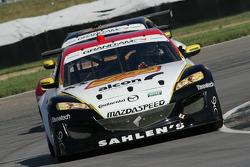 #43 Team Sahlen Mazda RX-8: Dane Cameron, Wayne Nonnamaker, Will Nonnamaker