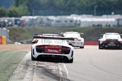 #6 Audi Sport Team Phoenix Audi R8 LMS Ultra: Andre Lotterer, Tom Kristensen, Marcel Fässler