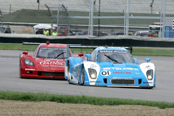 #01 Chip Ganassi Racing with Felix Sabates BMW Riley: Scott Pruett, Memo Rojas and #99 GAINSCO/Bob Stallings Racing Corvette DP: Jon Fogarty, Alex Gurney