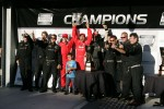 Podium: race winners Alex Popow, Sbastien Bourdais