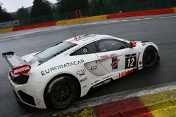#12 ART Grand Prix McLaren MP4-12C GT3: Grégoire Demoustier, Duncan Tappy, Mike Parisy, Ulric Amado