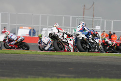 Race 1 action