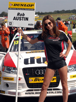 Rob Austin Racing Grid Girl