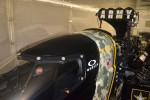 The canopy on Tony Schumacher's Top Fuel