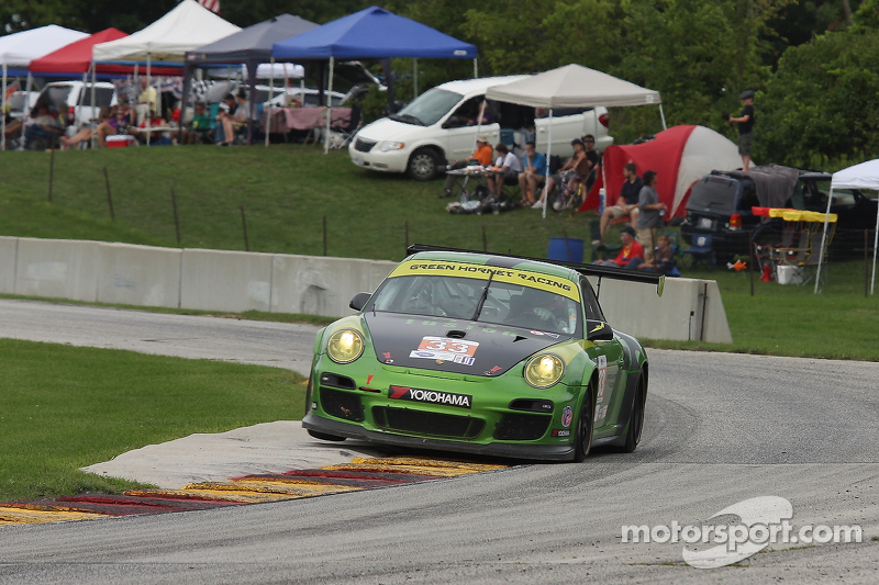 #33 Green Hornet Racing Porsche 911 GT3 Cup: Patrick Huisman, Brian Wong
