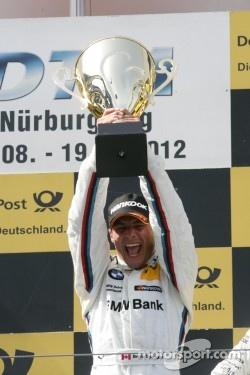Podium, Winner Bruno Spengler, BMW Team Schnitzer BMW M3 DTM