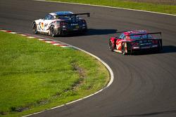 #3 NDDP Racing Nissan GT-R Nismo GT3: Yuhi Sekiguchi, Katsumasa Chiyo, Daiki Sasaki and #23 Nismo Nissan GT-R: Satoshi Motoyama, Michael Krumm