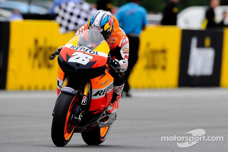 Race winner Dani Pedrosa, Repsol Honda Team takes the win