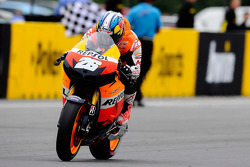 Race winner Dani Pedrosa, Repsol Honda Team takes the win