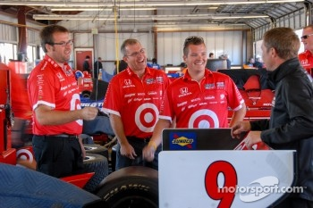 Team Target  Chip Ganassi Racing in the Garage