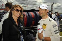 Jo and Andy Priaulx, BMW Team RBM