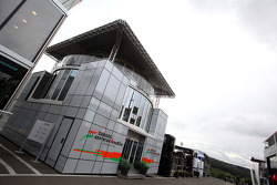 Sahara Force India Formula One Team hospitality in the paddock