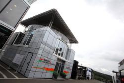 Sahara Force India Formula One Team hospitality in the paddock