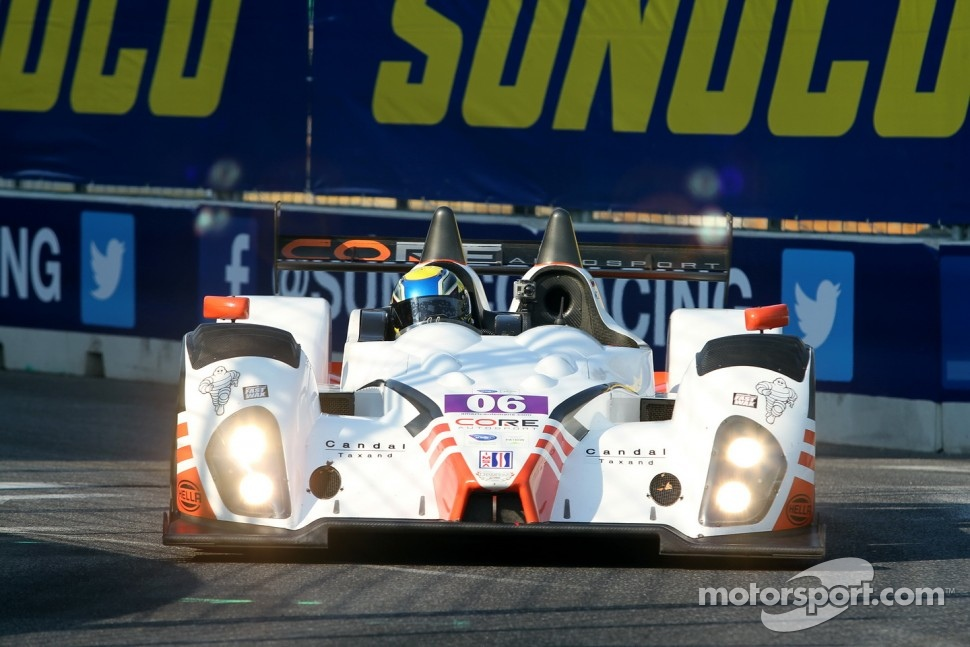 #06 CORE Autosport Oreca FLM09 Chevrolet: Alex Popow, Ryan Dalziel