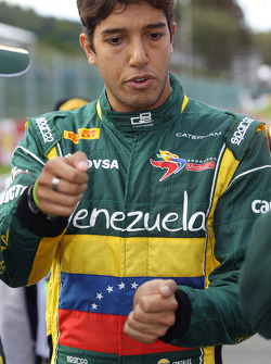 Rodolfo Gonzalez during red flag