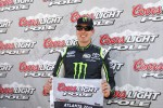 Pole sitter Kyle Busch