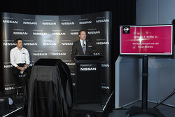 William Peffer Jr., Managing Directory and CEO of Nissan Australia