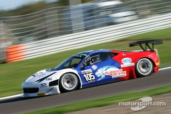 #105 Ferrari 458 Italia GT3: Maleev Vyacheslav, Kirill Ladygin