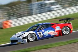 #105 Ferrari 458 Italia GT3: Maleev Vyacheslav, Kirill Ladygin