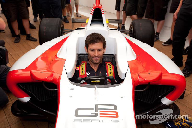 Mark Webber, Red Bull Racing fires up the GP3/13