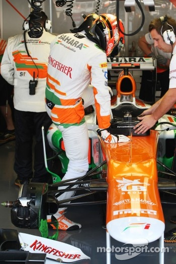 Jules Bianchi, Sahara Force India F1