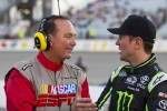Dr. Jerry Punch and Kurt Busch