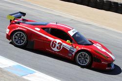 #63 Scuderia Corsa Ferrari F458: Alessandro Balzan, Olivier Beretta