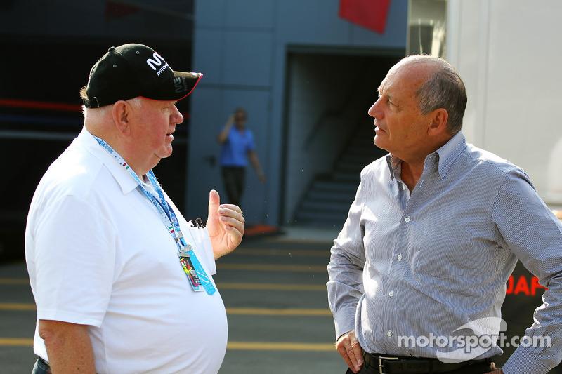 Ron Dennis, McLaren Executive Chairman (Right)