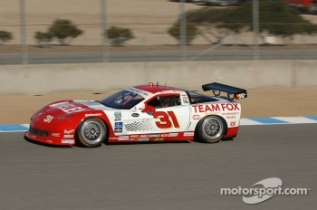 #31 Marsh Racing Whelen Engineering Corvette:  Eric Curran,Boris Said