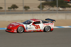 #31 Marsh Racing Whelen Engineering Corvette:  Eric Curran,Boris Said