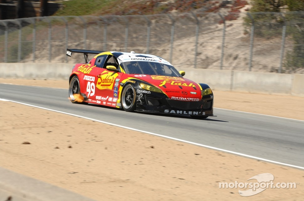 #49 Team Sahlen Western New York Flash Mazda RX-8: Will Nonnamaker, Joe Sahlen