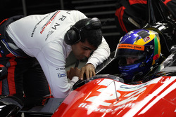 Karun Chandhok and David Brabham