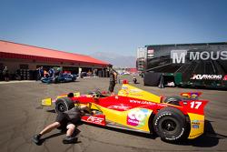 Car of Sebastian Saavedra, AFS Racing/Andretti Autosport Chevrolet
