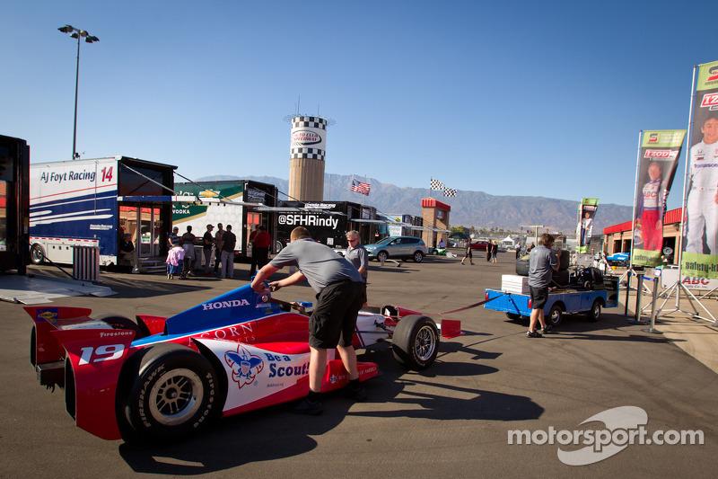 Car of James Jakes, Dale Coyne Racing Honda