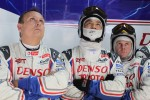 Toyota Racing crew members
