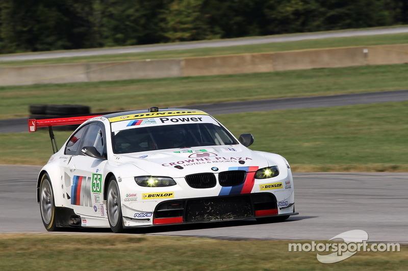 #55 BMW Team RLL BMW E92 M3: Jorg Muller, Bill Auberlen