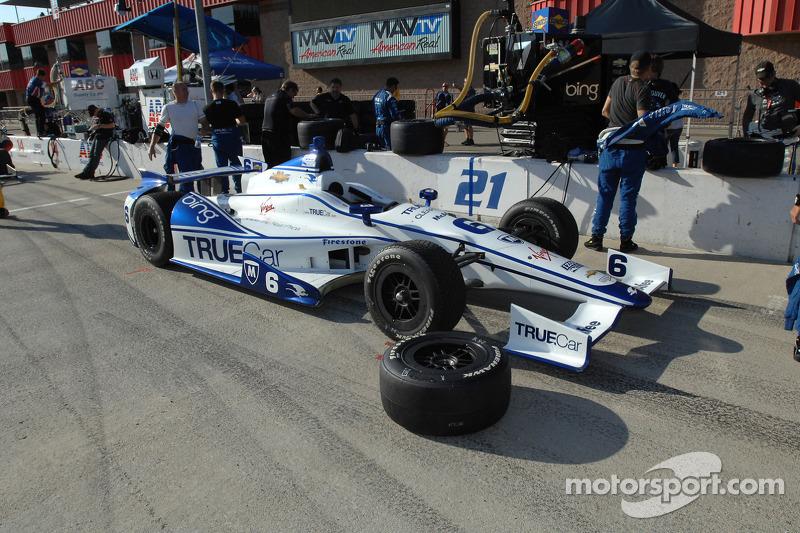 Car of Katherine Legge, Dragon Racing Chevrolet