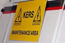 KERS maintenance area